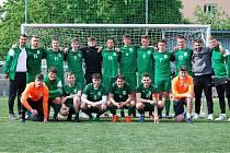 Výběr Příbrami postoupil do Superfinále letošního ročníku soutěže v malé kopané v kategorii U23, doprovodila ho tam i Praha.