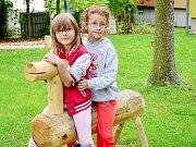 Oprava školek a stavba hřiště v Březnici stála deset milionů.