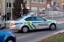Ozbrojený muž přepadl banku v Příbrami