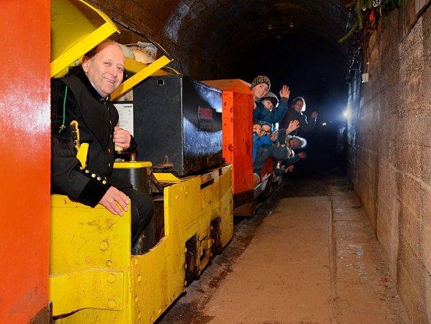 Vánoční zvyky havířů budou k vidění v hornickém domku i v podzemí.