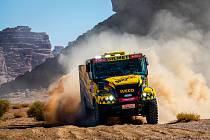 Martin Macík se ve třetí etap Dakaru 2020 posunul na průběžnou čtvrtou pozici v celkovém pořadí.