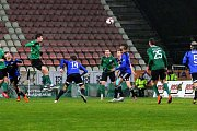 Osmifinále MOL Cupu 1. FK Příbram - Bohemians Praha 1905 1:2 (0:1).