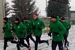 Příprava. Fotbalisté 1. FK Příbram zahájili zimní přípravu.
