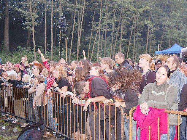 Nedávný rockfest v Březnici