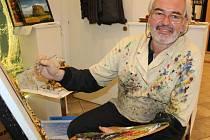 Dublovický malíř Petr Sůsa