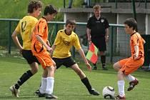 Turnaj Slivice 2011: utkání Kovohutě - Višňová (0:1).