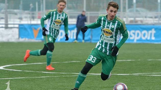 STŘELEC. Dominik Mašek rozhodl o vítězství v prvním utkání Tipsport ligy nad Táborskem.