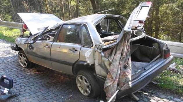 Některé z víkendových nehod na Příbramsku