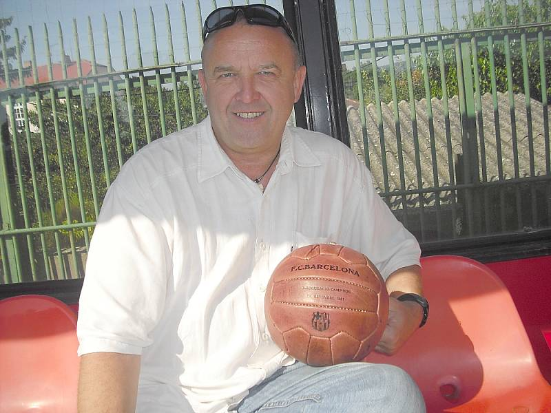 Vladimír Králíček na Spartaku.