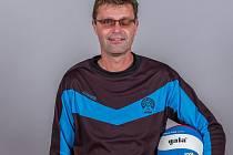 Trenér volejbalistů Příbrami Martin Kop starší. Foto: VK Příbram