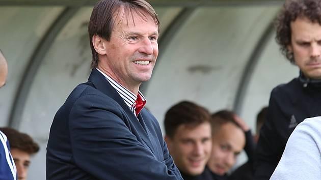 Zápas 2. kola nadstavbové části skupiny o záchranu 1. FK Příbram - MFK Karviná 1:0.