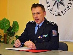 Šéf příbramské policie René Peták.