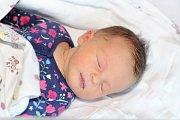 Rozálie Marhoulová z Příbrami se narodila 8. prosince 2018 a vážila 3150 g a měřila 48 cm.