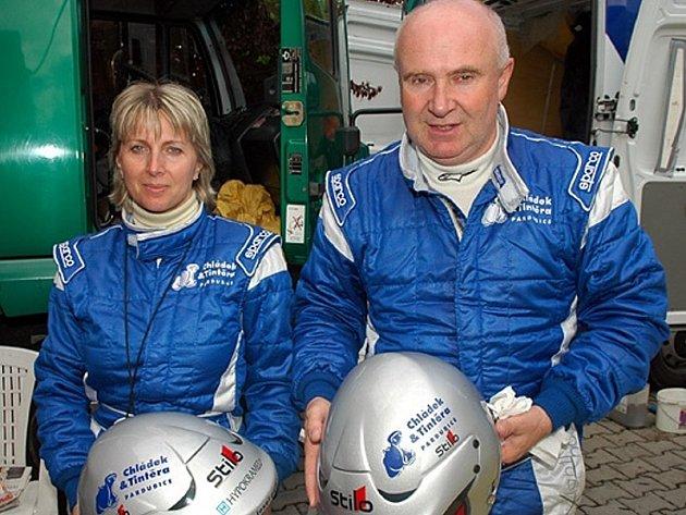 Josef Peták a Alena Benešová