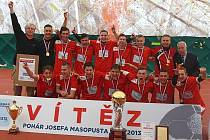 Vítěz Poháru Josefa Masopusta 2012/13: ISŠ HPOS Příbram.