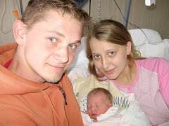 Barborka Baštýřová prvně otevřela očka v úterý 1. října a v ten den vážila 2,79 kg a měřila 46 cm. Životem provázet svoje první štěstíčko budou maminka Hana a tatínek Jaroslav z Příbrami.