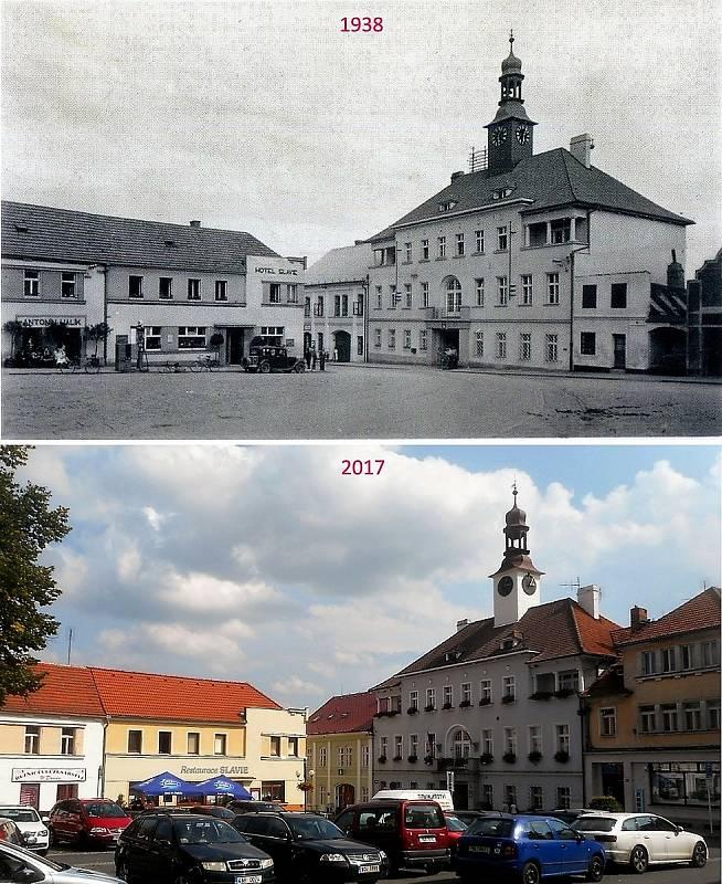 Rožmitál pod Třemšínem - Náměstí.