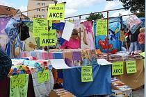 Příbramské trhy na Náměstí TGM. Ilustrační foto