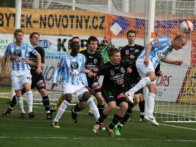 1. liga: Příbram - Mladá Boleslav (2:2).