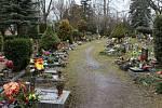Březohorský hřbitov v Příbrami.