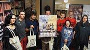 Pátý ročník BOoK!conu si užili fanoušci v dobříšské knihovně.