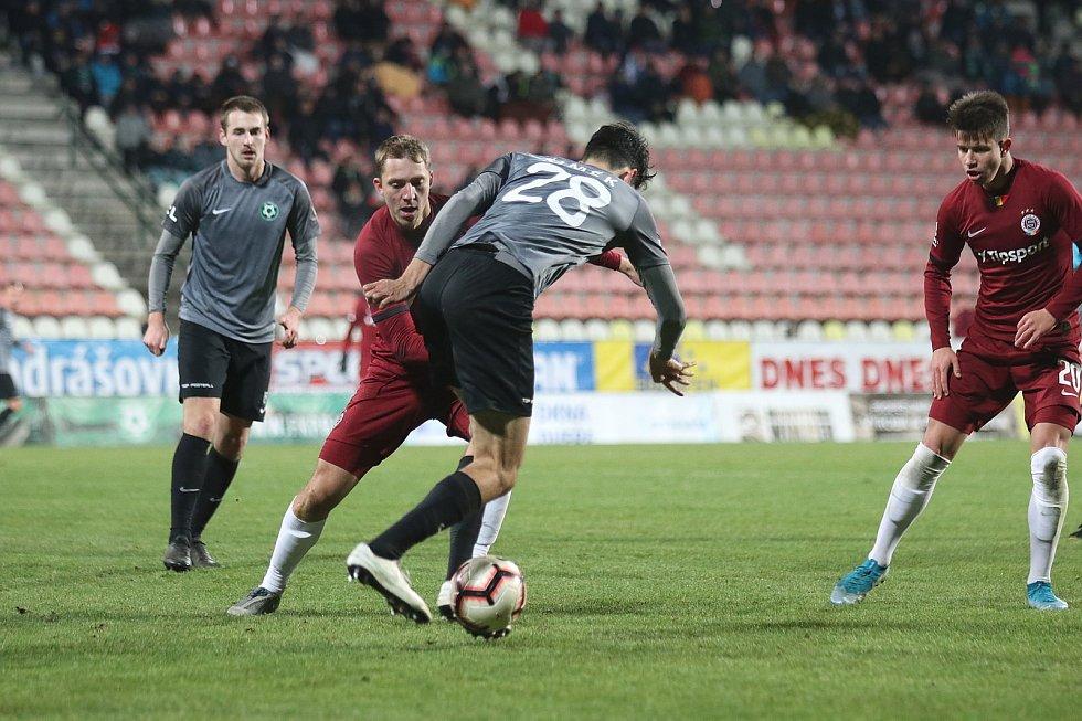 Sparta vyhrála v 18. kole FORTUNA:LIGY v Příbrami 1:0.
