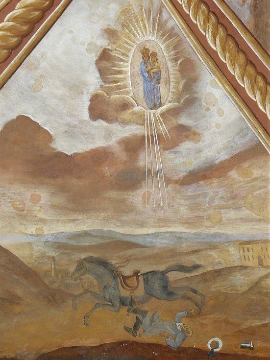 Sto svatohorských milostí: obraz číslo 1.