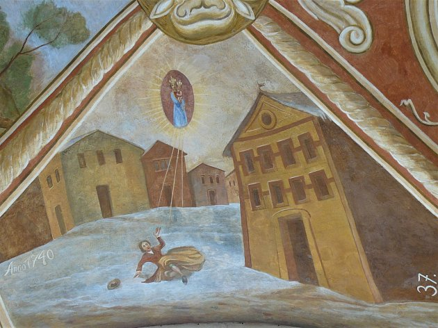 Sto svatohorských milostí: obraz číslo 37.
