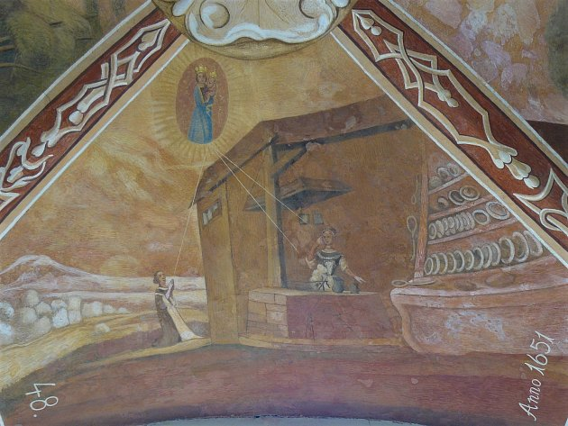 Sto svatohorských milostí: obraz číslo 48.