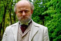 Hynek Čermák při natáčení filmu Americké dopisy ve Vysoké.