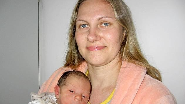 Ondřej Přígrodský, nejmladší člen rodiny maminky Hany, tatínka Milana a pětiletého Lukáše z Rožmitálu, se prvně ohlásil světu v sobotu 19. ledna a v ten den vážil 2,85 kg a měřil 47 cm.
