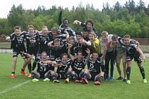 Dorost 1.FK Příbram si zajistil titul mistra republiky a postup do Ligy mistrů.