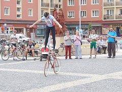 Cyklotour Na kole dětem v Příbrami.