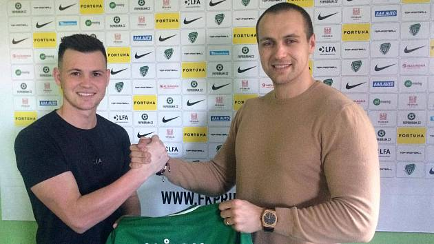 Egon Vůch se stal novou posilou 1. FK Příbram.