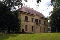 Kličkova vila prošla rozsáhlou rekonstrukcí, opravu potřebovalo především sklepení.