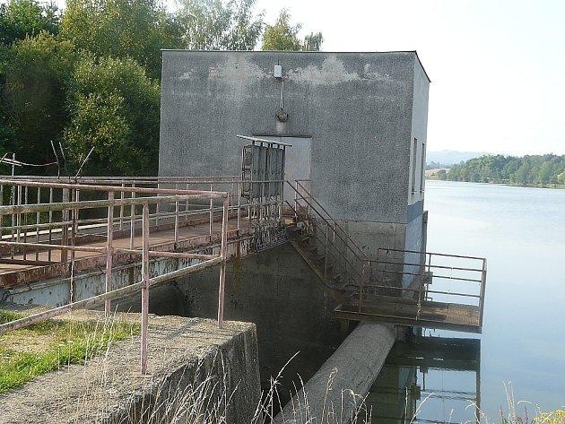 Sedlčanská přehrada.