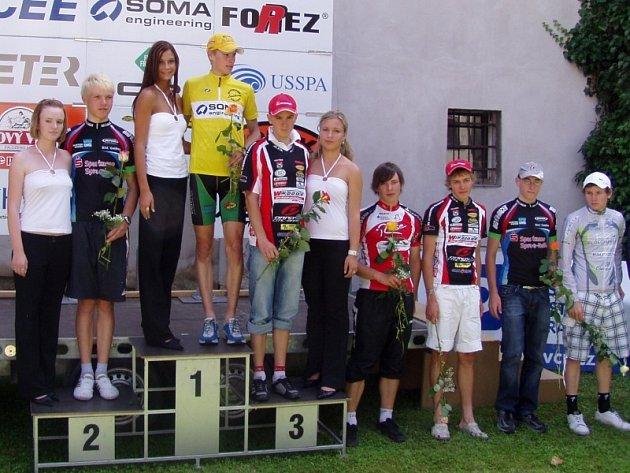 Tomáš Danačík byl třetí v závodě Regionem Orlicka.