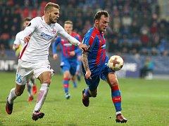 KONEČNĚ! Jakub Řezníček dostal při zranění Krmenčíka šanci od začátku. Škoda jen, že neproměnil své šance.
