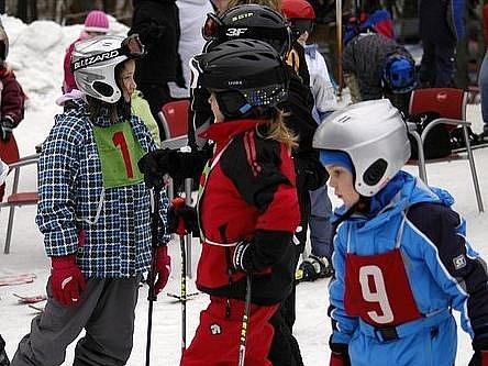 Příbramský slalom na Padáku přilákal také spoustu dětských závodníků