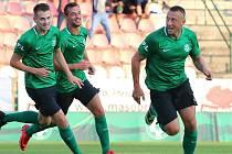 V minulé sezoně rozhodl o vítězství v domácím zápase s Olomoucí jediným gólem Miroslav Slepička. A rozpoutal tak velké oslavy. Kanonýr Příbrami se však stále nezotavil ze zlomeniny kotníku, přesto jeho spoluhráči věří, že uspějí i letos.