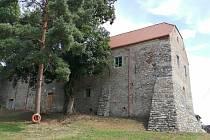 Budovu špejcharu chce obec využít jako společenské i výstavní prostory.