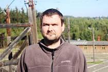 Historik a starosta obce Lazsko František Bártík.