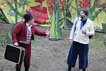 Komediální pohádka Divadla Za2 principála a příbramského herce Libora Jeníka pobavila malé i velké diváky.