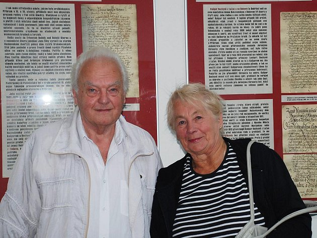 MUDr. Emanuel Bechinie – Lažan s chotí Alenou.