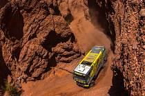 Martin Macík na trati Rallye Dakar.