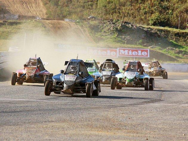 Rallyecross v Sedlčanech.