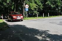 Křižovatka ulic Koperníkovy a Ivana Olbrachta