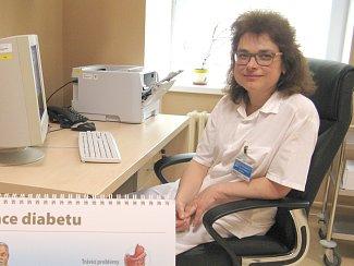 Internistka příbramské nemocnice MUDr. Věra Prýmková.