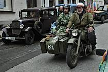 Historická vozidla v Rožmitále.