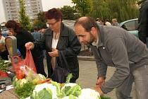 Farmářské trhy Obora v Příbrami.